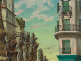 Dorothea Tanning A Parisian Afternoon