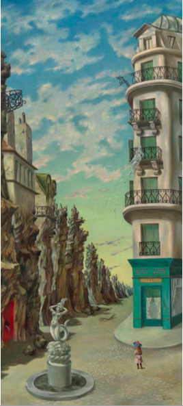 Dorothea Tanning A Parisian Afternoon