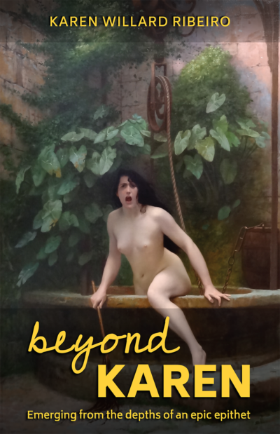 Beyond Karen book cover (stay tuned for audio book)